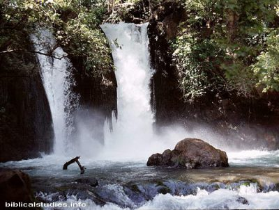The Sons of Korah may have written Psalm 42 by these waterfalls