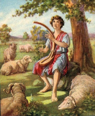David-sang-Psalms-to-the-Lord-with-his-harp