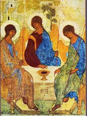 Rublev's-icon-of-the-Trinity