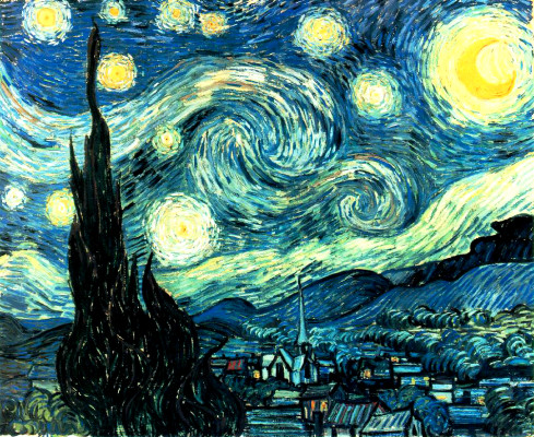 Starry Night by Van Gogh - Dark Night of the Soul