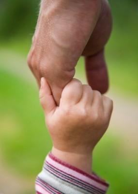 hold-father's-hand-of-love