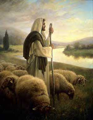 """The Lord is my Shepherd I shall not want"" -- it's the story of the whole Bible!"