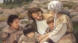 Jesus-Smiling-Laughing-with-Children