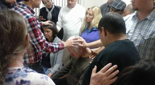 Prayer for Bob Sanders