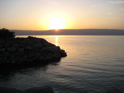 Sea of Galilee Sunrise