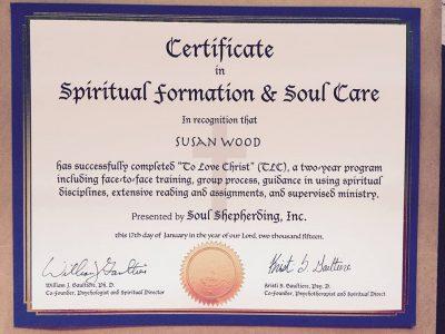 Institute: Spiritual Formation and Soul Care Retreats - Soul Shepherding